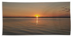 Sunrise On Seneca Lake Hand Towel