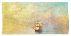 Sunrise On The Sea Hand Towel
