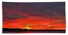 Sunrise Onset Pier Bath Towel