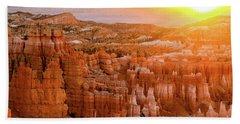 Sunrise Over Bryce Canyon Bath Towel