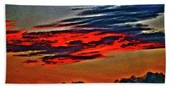 Sunrise Over Daytona Beach Hand Towel