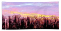 Sunrise Over Lake Bath Towel