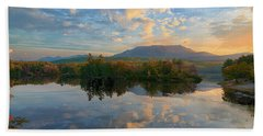 Sunrise Over Mt. Katahdin Bath Towel