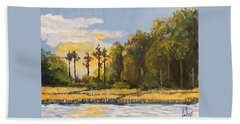 Sunrise Over Queens Creek Hand Towel