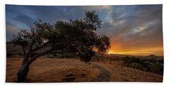 Sunrise Over San Luis Obispo Hand Towel
