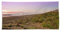 Sunrise Over Sand Dunes Bath Towel