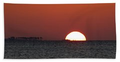 Sunrise Over The Bay 5x7 Hand Towel
