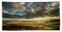 Sunrise Over The Heber Valley Bath Towel