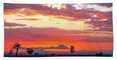 Sunrise Over The Mara Hand Towel