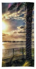 Sunrise Over The Matanzas Hand Towel
