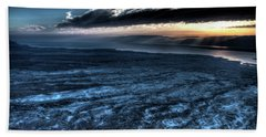 Sunrise Over The Moav Mountains 1 Bath Towel