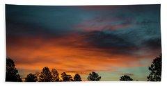 Sunrise Over The Southern San Juans Bath Towel by Jason Coward