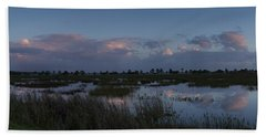 Sunrise Over The Wetlands Bath Towel