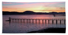 Sunrise Over Tomales Bay Hand Towel