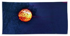 Sunrise Paint Hand Towel