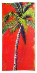 Sunrise Palm Hand Towel