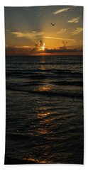 Sunrise Rays Delray Beach Florida Hand Towel
