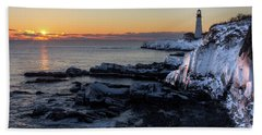 Sunrise Reflection Bath Towel