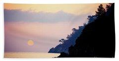 Sunrise Sea Rythm  Bath Towel