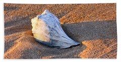 Sunrise Seashell Hand Towel by Allan Levin