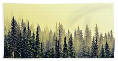 Sunrise Through The Pines Hand Towel