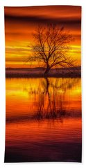 Sunrise Tree Hand Towel