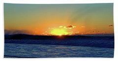 Sunrise Wave I I I Hand Towel