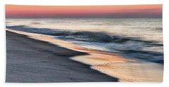Sunrise Waves Hand Towel
