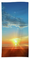 Sunrise With Flare Hand Towel