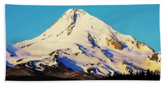 Sunrise With Mt. Hood Bath Towel