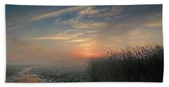 Sunrise Through The Fog Bath Towel