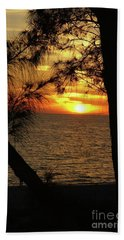 Sunset 1 Hand Towel by Megan Cohen