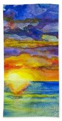 Sunset 1 Hand Towel