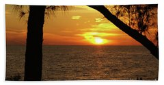 Sunset 2 Bath Sheet by Megan Cohen