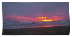 Sunset #9 Bath Towel