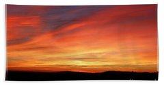 Sunset 9 Bath Towel