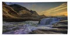 Sunset At Cape Kiwanda Hand Towel by Rick Berk