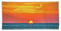 Sunset At Captiva Hand Towel