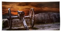 Sunset At Gettysburg Bath Towel