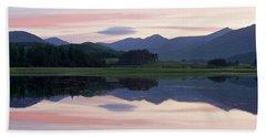 Sunset At Loch Tulla Hand Towel