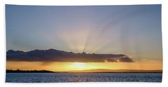 Sunset At Lough Derg Hand Towel