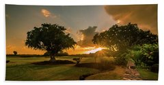Sunset At Paia Hand Towel
