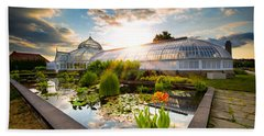 Sunset At Phipps Conservatory Bath Towel
