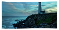 Sunset At Pigeon Point Bath Towel