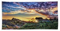 Sunset At Sage Ranch Bath Towel