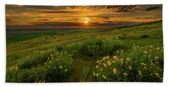Sunset At Steptoe Butte Hand Towel