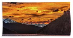 Sunset At Summit Cove And Summerwood June 17 Hand Towel