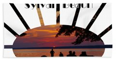 Sunset At Sylvan Beach - T-shirt Hand Towel