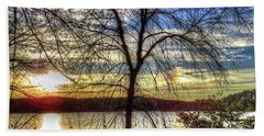 Sunset At The Park Hand Towel