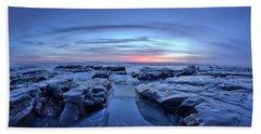 Sunset At Waddell Beach Bath Towel